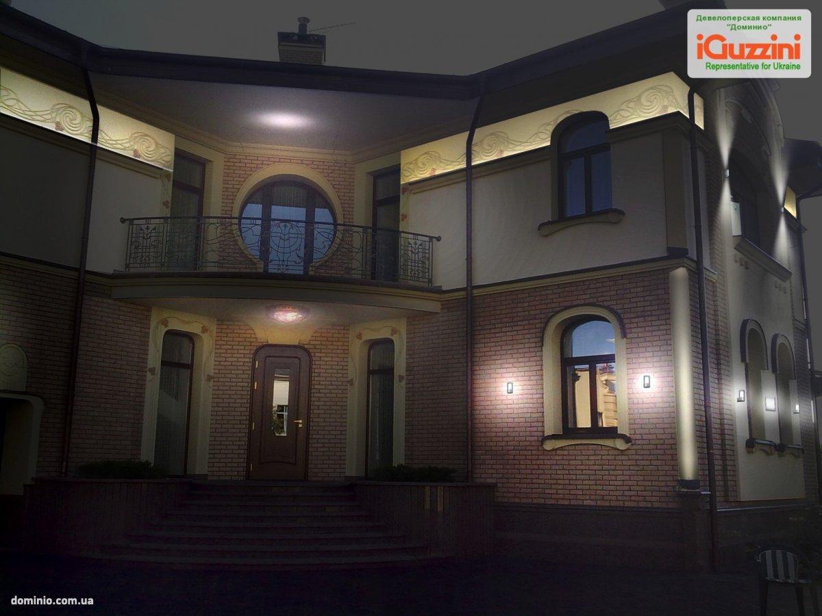 Проект «Частный дом в с. Козин»