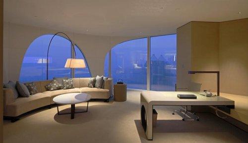 Hospitality lighting, Conrad Hotel - Entertainment and accommodation structures iGuzzini