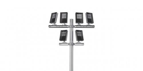 MultiPlatea pole mounted