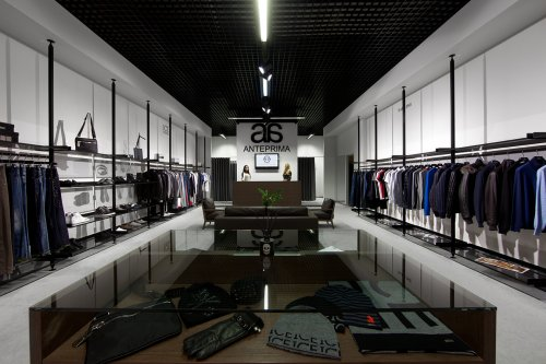 Проект «Подсветка бутика мужской одежды  «ANTEPRIMA MEN»