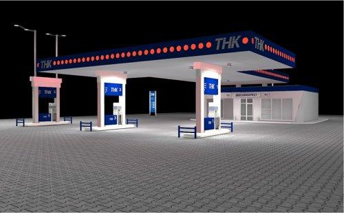 Проект «Заправка ТНК Киев»